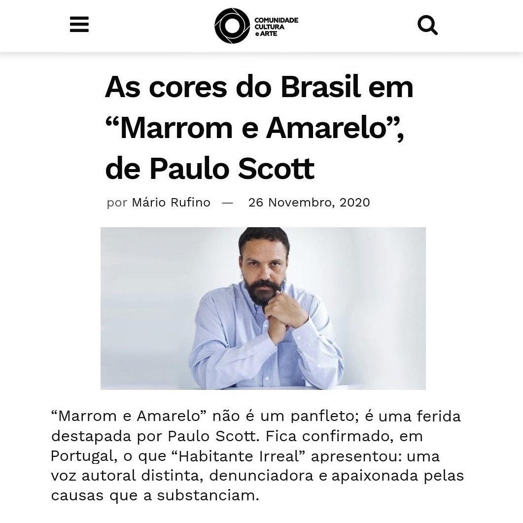 O crítico português Mário Rufino resenhou