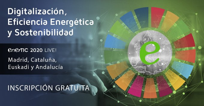 🗓SAVE THE DATE: 11 de diciembre > #enerTICLive #AndalucíaNuestra compañera, Clara Pezu...