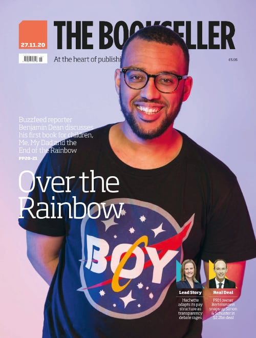 So, uh...Im on the cover of @thebookseller this week! Im honestly so overwhelmed. Thank you so much to @fionanoblebooks for the incredible support and making my first time on the OTHER side of the interview table so easy! You can read my interview here: shorturl.at/lzJST