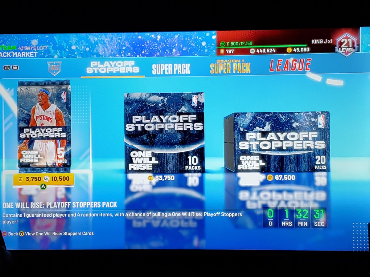 What are these packs? Season 1??? Playoff stoppers??  Come on man   #NBA2K21 #NBA2K21MyTeam #packs #2k21 #2KFest