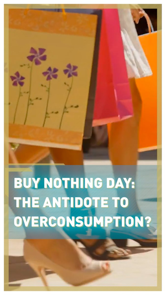 Could Buy Nothing Day be an antidote to Black Friday overconsumption?   Sustainable stylist @R0bertaLee thinks so and explains why movements like this could help the planet…♻️  Read more:   #BlackFriday #BuyNothingDay