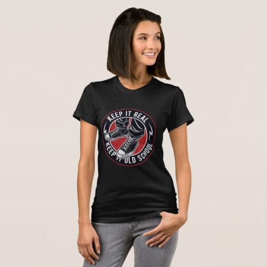 KEEP IT REAL - KEEP IT OLD SCHOOL T-Shirts < > Grab one now @ https://t.co/gtB5sKBhpa < > #oldschool #keepinitreal  < > Full range @ https://t.co/gqVrP8p98p https://t.co/Qq5FErmY6P