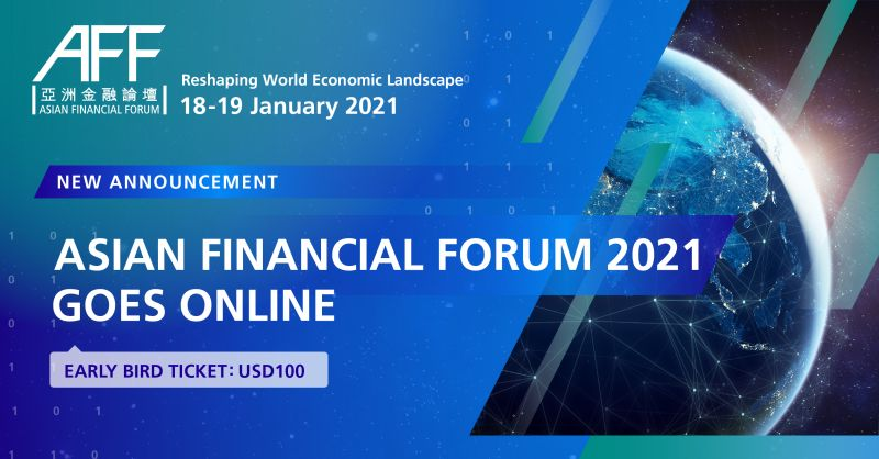 The Asian Financial Forum goes online! Bringing together some of the most influential leaders of the global financial and business community to discuss developments and trends in the dynamic markets of #Asia  Register NOW for early bird tickets: https://t.co/Q4n8WjwCX6  #AFF https://t.co/zeTSAmQnRe