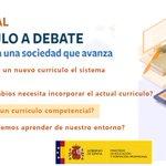 Image for the Tweet beginning: 📢¿Por qué un currículo competencial?