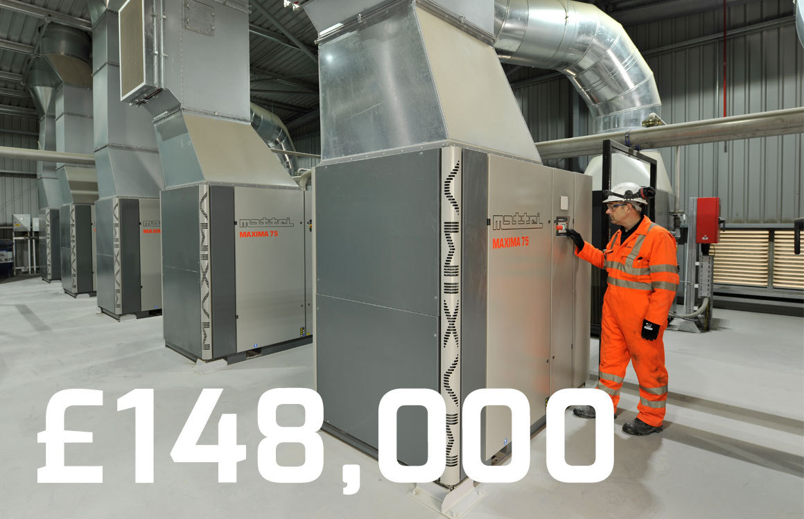 This client saved £148,000 in energy costs per year by upgrading to Mattei compressors.  What are you waiting for?   #matteigroup #matteicompressors #aircompressor #compressor #rotaryvane #energy #energyefficiency #efficiency #energy #green #electricity #madeinitaly #savemoney https://t.co/n5ZeyPs8X9