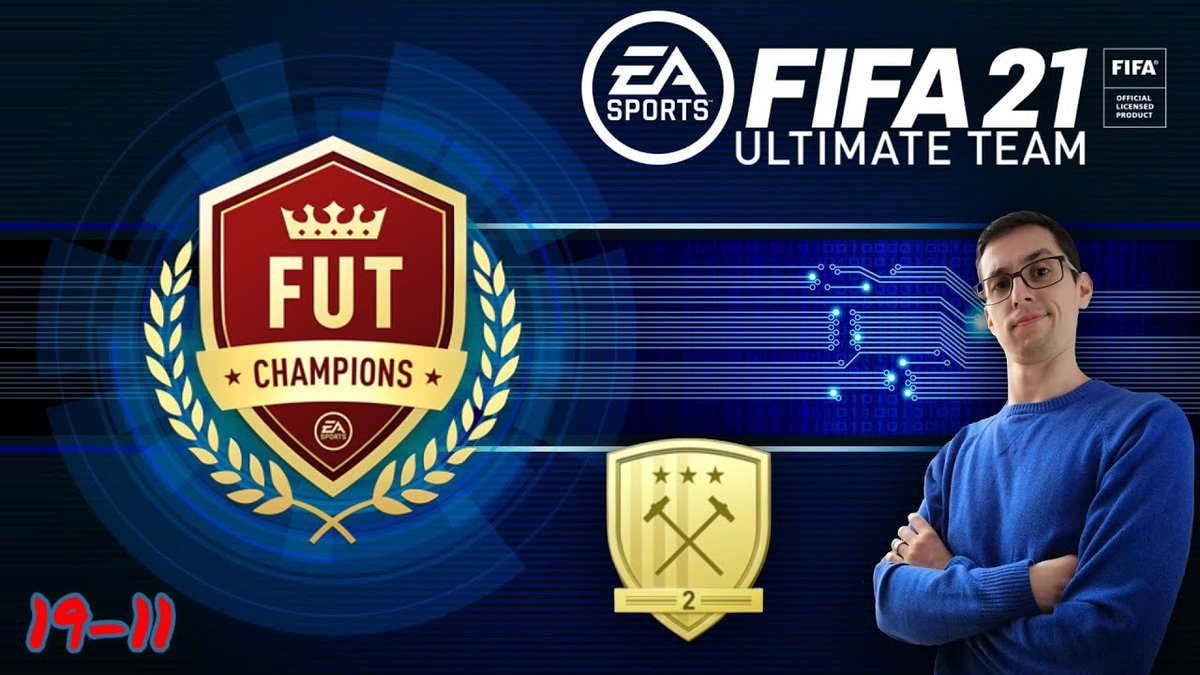 Recompensas FUT Champions, Ouro 2! Fiz 19-11 e tive direito a Walkout de Champions! Novo episódio de FIFA21-FUT 👉 https://t.co/mbAADPicfe #Rubiesta #PlayStation #PS4 #FIFA21 #FUT #EA #Portugal #Videojogos #Futebol #FutChampions #Gamer #Recompensas #Walkout https://t.co/I4xJVYSSPO