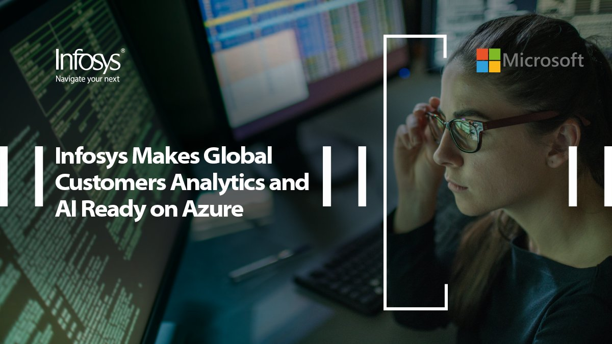 Learn how Infosys can navigates enterprises on their #cloud journey by specifying Azure adaption and infusing #innovation. To read more, go to: https://t.co/g24wKXbQgL @Microsoft https://t.co/EH6CI6OveO