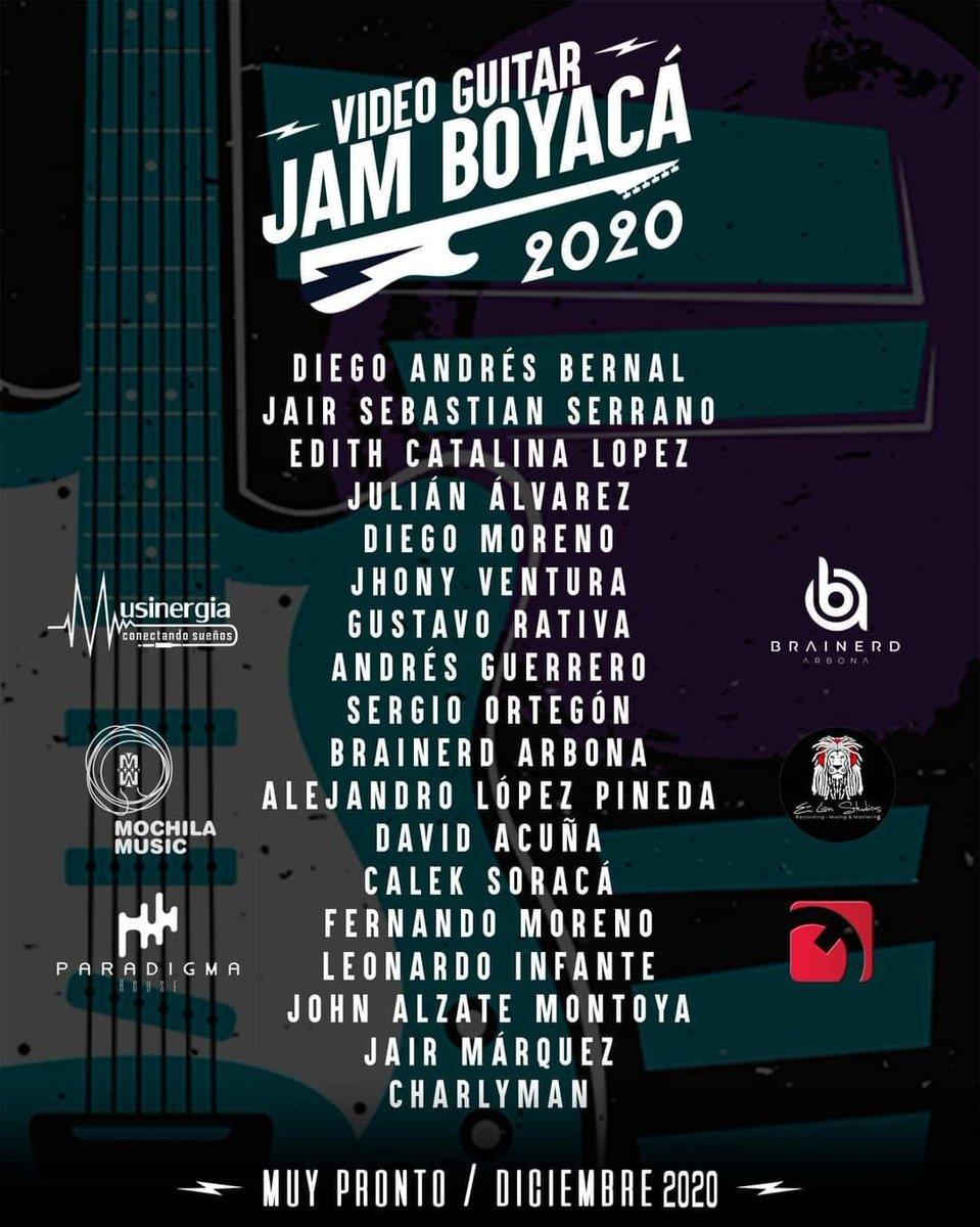 #Prográmese VIDEO GUITAR JAM BOYACÁ 2020 🎶🎸 #jam #videojamcolombia2020