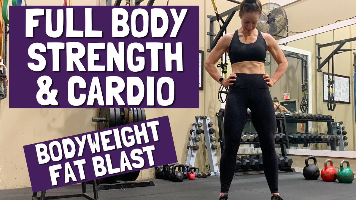 Good morning! Need a solid workout for home today? New 24Min Full Body Strength & Cardio Workout now on YouTube! 👇🏻 https://t.co/IEk4YpCFxQ  #YouTube #WorkIt #strong #homeworkout #fitness #motivation #BlackFriday #friday #bodyweightworkout https://t.co/U0CR7zPNJv