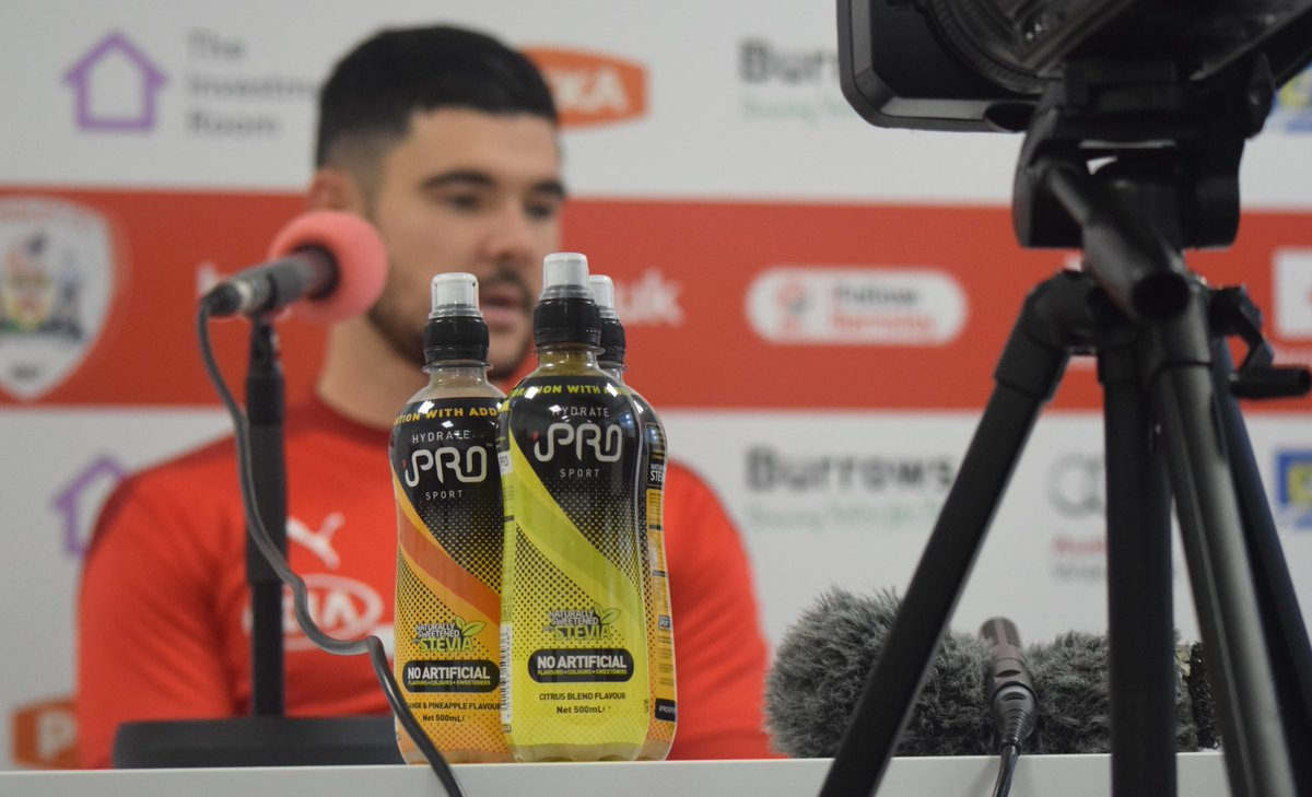 🗣️ The skipper @alex_mowatt is next up on press duty, fuelled by @iPROHydrate 💪