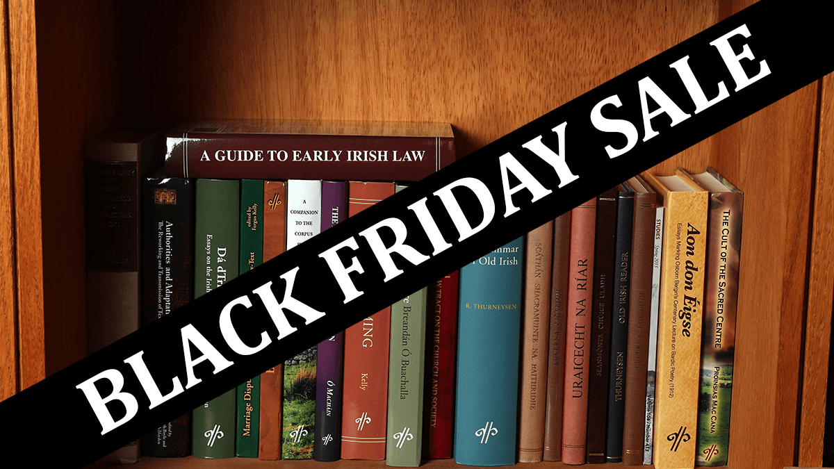 test Twitter Media - 📢HUGE reductions on some complete sets: Celtica (31 volumes!): €180 Early Irish Law Series: €180 Mediaeval and Modern Welsh Series: €160 Book of Leinster: €100 Metrical Dindshenchas: €70 Available now for a limited time https://t.co/OPMKpeqjxb https://t.co/tnQrd9tjQL