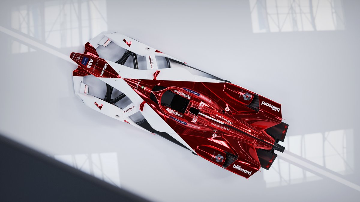 Clean design. Bold colours. Unique materials.  Very, very proud of this one.  #FormulaE #Dragon #PenskeAutosport https://t.co/TUnyEXA1UI