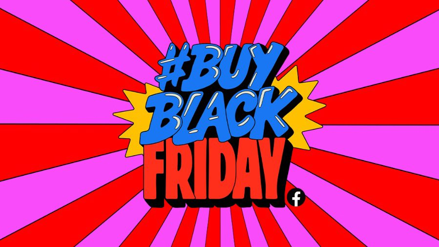Join me on the @facebookapp Facebook page today at 11am PT / 2pm ET for The #BuyBlack Friday Show! 🎉 We'll be spotlighting businesses, playing music and having conversations that give us ALL energy.  Tune in, #BuyBlack, and invest in our community! 🙏🏾✊🏾🤗