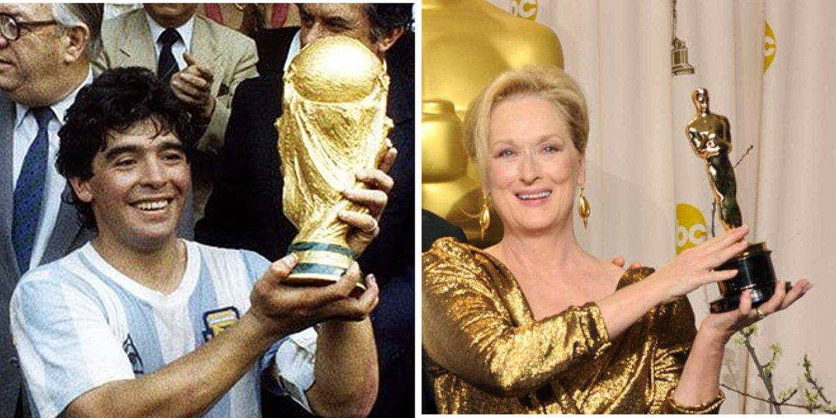 """""""Maradona como Meryl Streep""""  Pueden abrir el hilo ustedes. https://t.co/kXkDrURE6K"""