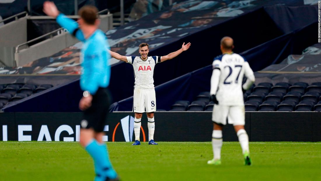 """You know I would love to say that I did (mean it), but I didn't mean it no.""  Tottenham soccer player hits wayward pass, scores from 50-yards"