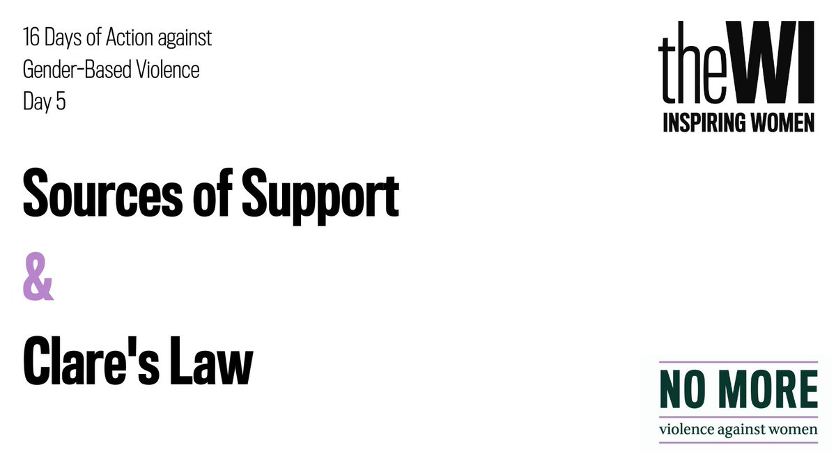 #16DaysofAction sources of support. National Domestic Abuse Helpline: 0808 2000 247 Bilingual Live Fear Free Helpline (Wales): 0808 8010 800 National LGBT+ Domestic Abuse Helpline: 0800 999 5428 Police: 999 press 55 when prompted if you cant speak.