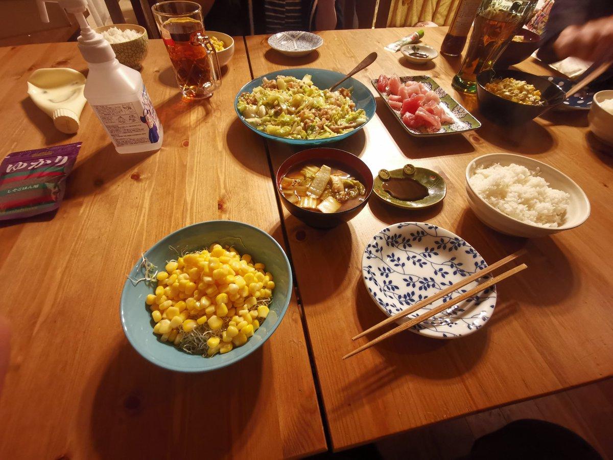 今日はこれにしました最近お義父さんが晩飯タイムに合わせて来ますなw食後に今年初のル・レクチェ剝いたうめー!農家天才か!