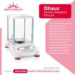Image for the Tweet beginning: 👉Ohaus Pioneer Analytical PX124/E, Stainless
