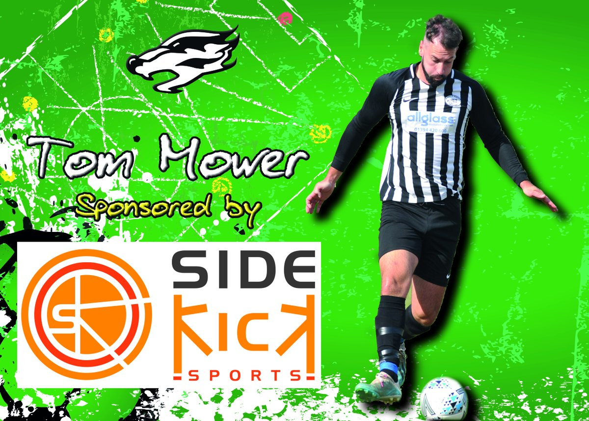 Sponsorship success 👍   Thanks to @sidekick4sports for stepping in to sponsor Tom Mower for the rest of the season 👊. Much appreciated. Thank you, guys!   Just three sleeps until football is back...🤩🦡 #Badgers
