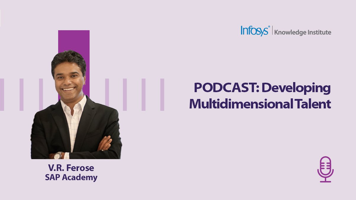 What is the formula for measuring your work life? @VRFerose, SAP Academy,  answers that question and gives us an outlook on the post-COVID #workplace. Listen more on this https://t.co/MenxqjcFCw @Infosys_IKI #podcast #InfosysKnowledgeInstitute https://t.co/cNVpo0DnuV