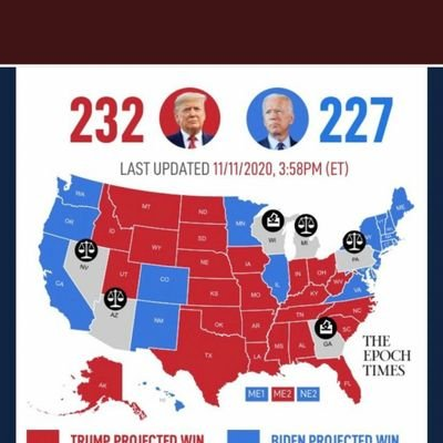 #CountEveryLegalVote #StopTheSteal #ElectionResults2020 #USElection2020 #TrumpPence2020 #Trump #MAGA #4MoreYears #KeepAmericaGreat #KAG #FakeNews #HoldTheLinePatriots #ElectionFraud #AuditTheVote #HoldTheLine #FightBackForAmerica #AmericaFirst #KrakenIncoming #Kraken https://t.co/e89tmJ7yeS