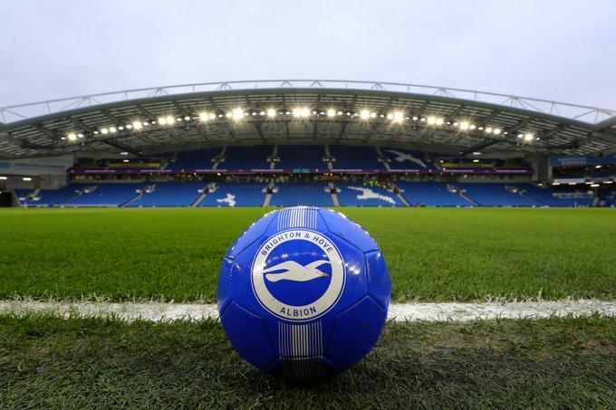 Tomorrow's Premier League action:  ⏰ 12:30pm: • Brighton vs Liverpool  ⏰ 3pm: • Man City vs Burnley  ⏰ 5:30pm: • Everton vs Leeds  ⏰ 8pm: • West Brom vs Sheffield United https://t.co/i5Xx3DLX1Y