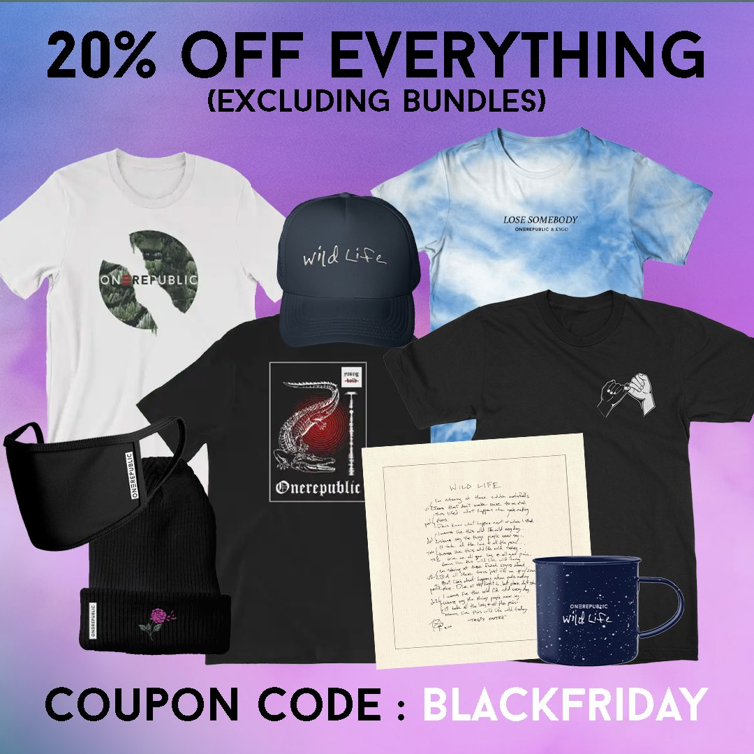 Now thru Cyber Monday get 20% off in our store with the code BLACKFRIDAY