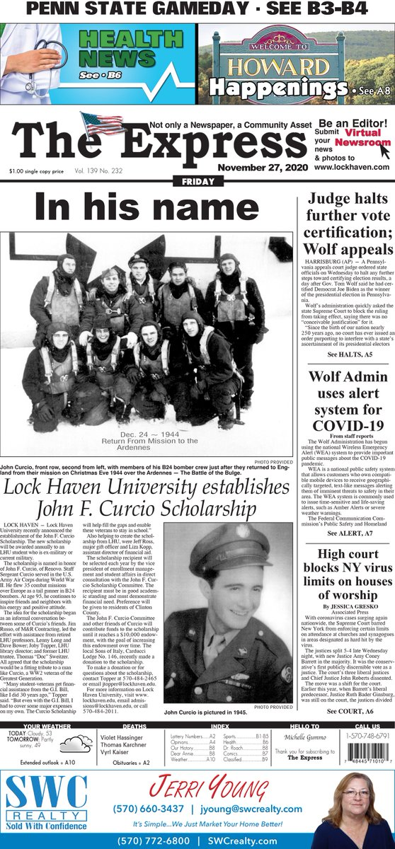 Theexpress Theexpresspa Twitter Discover the most extensive lock haven pa newspaper and news media guide on the internet. theexpress theexpresspa twitter