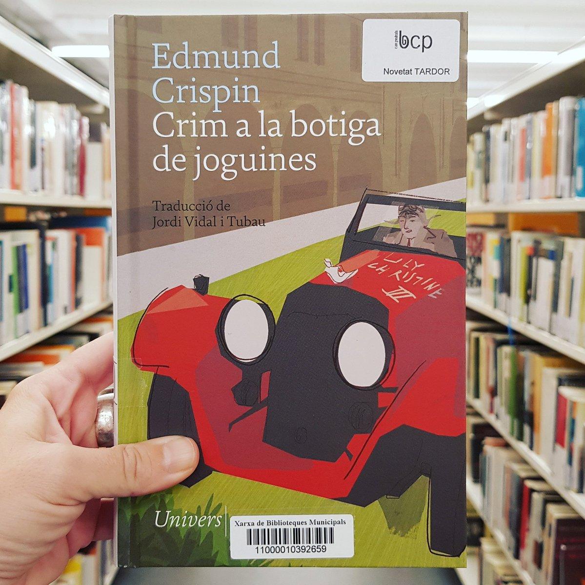 Image for the Tweet beginning: Una novel·la de detectius atípica,