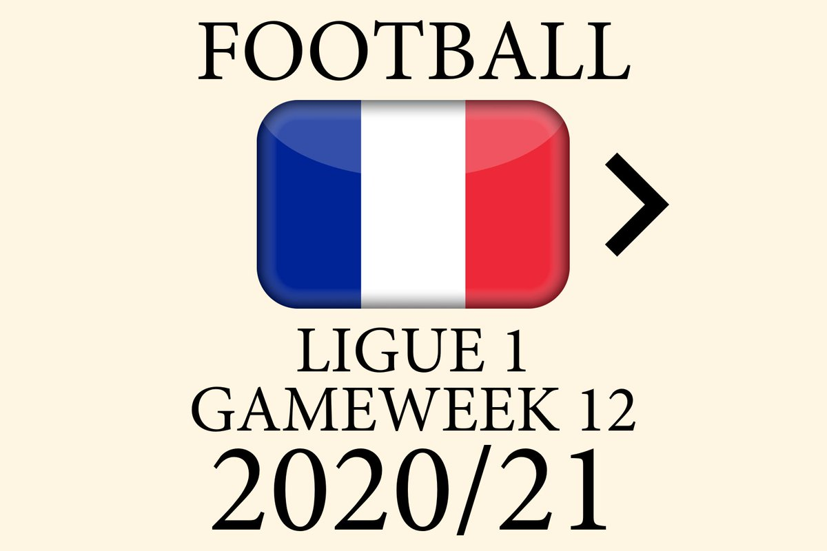 How the 2020-21 Ligue 1 table could change in gameweek 12 #football #soccer #ligue1 #ligue1conforama https://t.co/3BA93xuOaj
