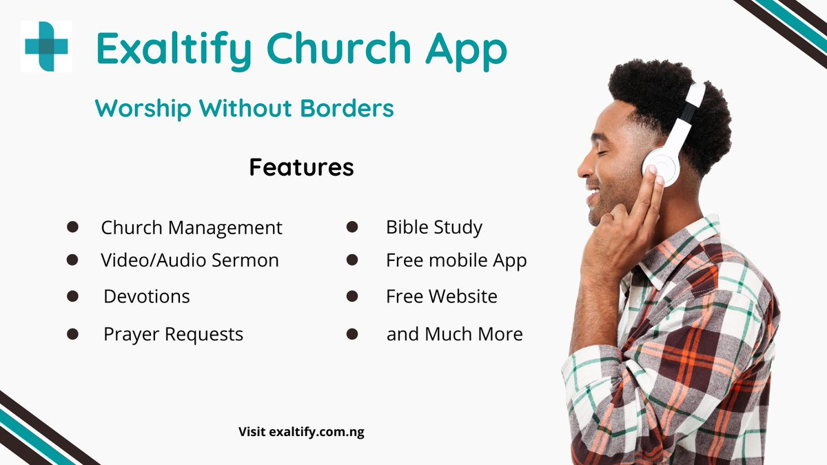 Exaltify Church App... Boost your church's presence online today! Pls like and share   #churchonline #onlinechurchservices #churchmanagementsystem #onlinechurches #bibleverses #exaltifyapp #churchleaders #churchleadership #churchleadersforum #sundayvibes