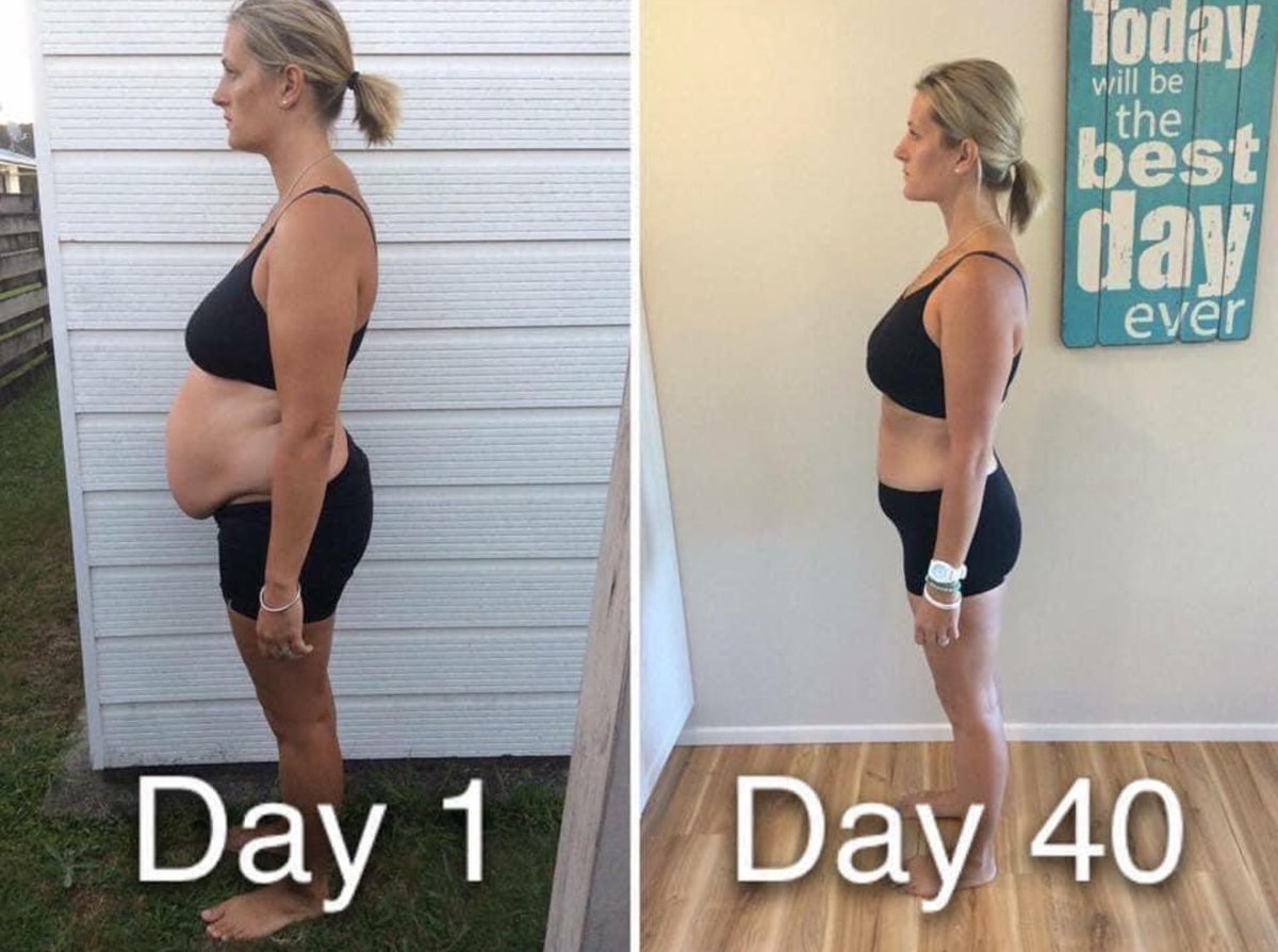 What an incredible change! Wow! #FitFriday #fridaymorning #FridayMotivation Want the secret sauce?