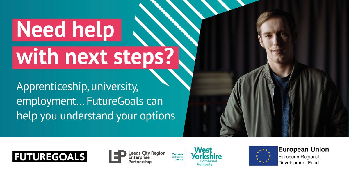 COVID-19 has left lots of people feeling worried about their future career or training options. @LeedsCityRegion FutureGoals can help you plan your next steps and get local career support. Find out more 👉 crowd.in/nO5QBX.