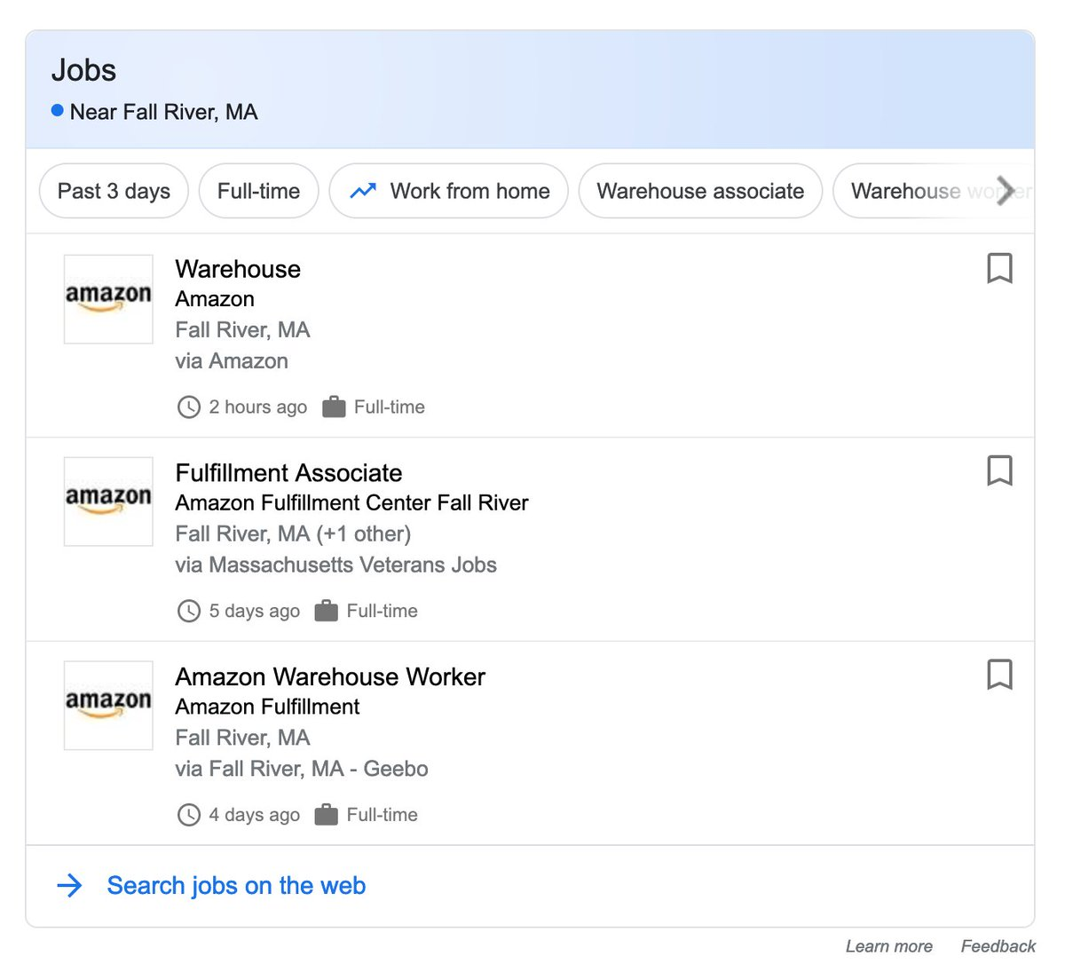 """What now? Class war. on Twitter: """"Amazon takes advantage of areas"""