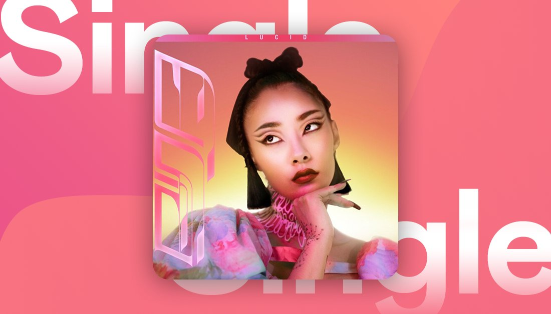 .@rinasawayama has teamed up with @bloodpop on a new upbeat bop 🎶  Listen to their track #LUCID now on Deezer.