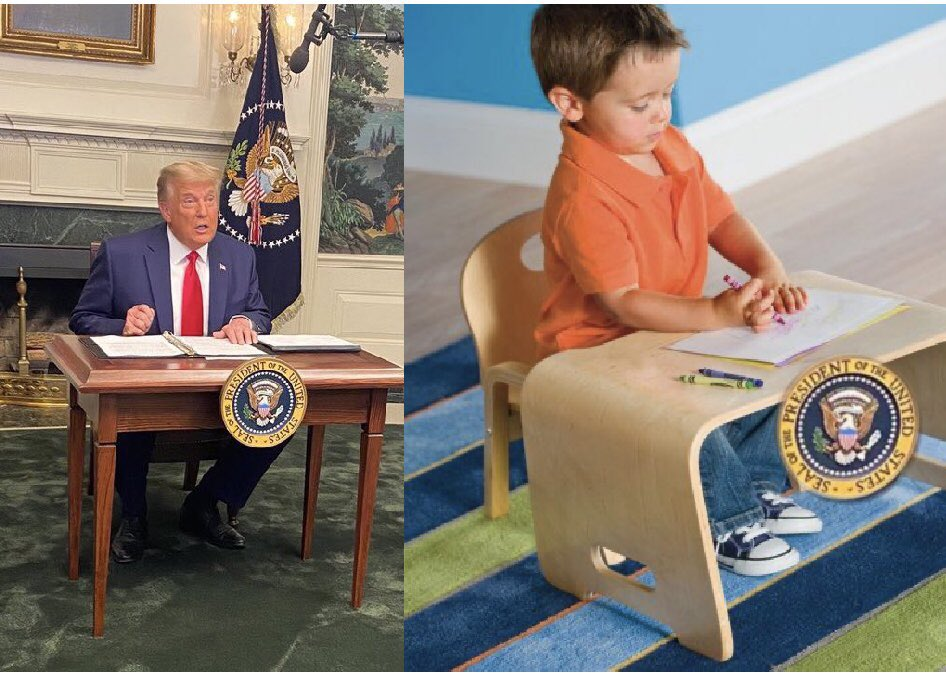 #DiaperDon #TrumpTantrum they really made this mofo sit at the kids table for Thanksgiving lololololol