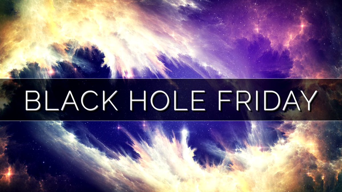 Need a distraction from the hustle and bustle of holiday season? Take a deep breath and escape into the cosmos with NASA TV, now streaming #BlackHoleFriday specials: https://t.co/mzKW5uV4hS https://t.co/6AEBsIoT2C