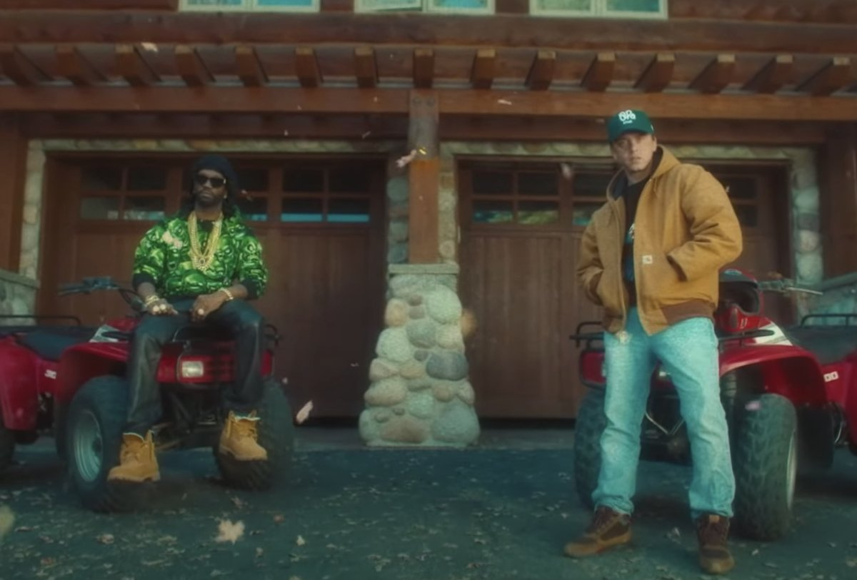 """Juicy J has dropped the video for """"1995"""" featuring Logic alongside his new 'The Hustle Continues' LP"""