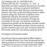 Image for the Tweet beginning: $CLSH  Outpaces Statewide Market