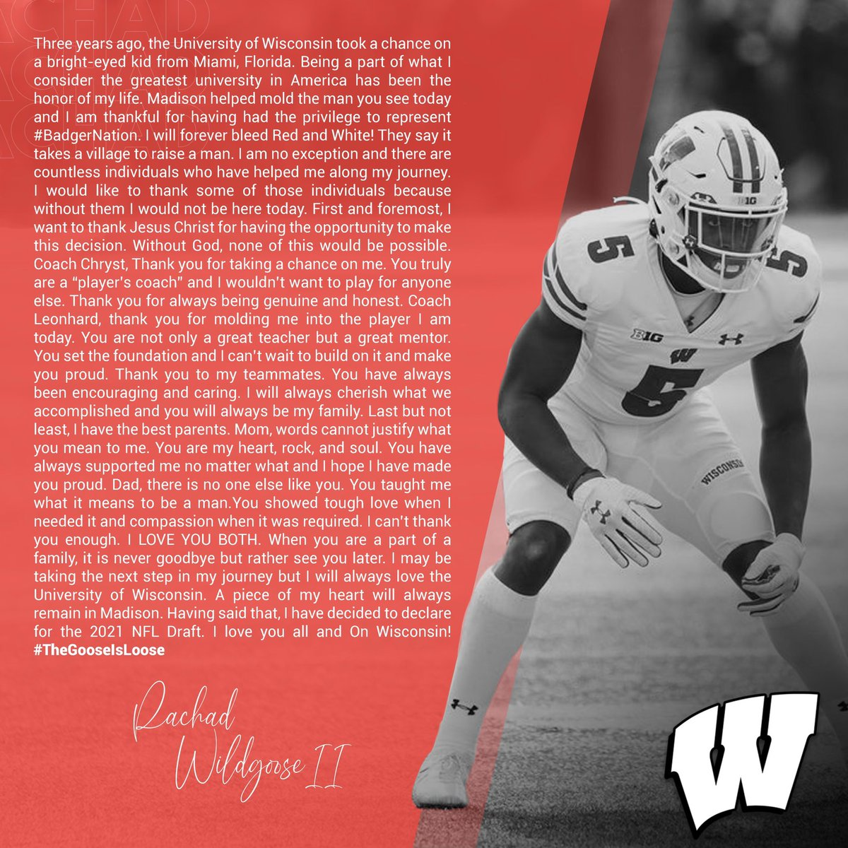 5L @BadgerFootball Thank you !