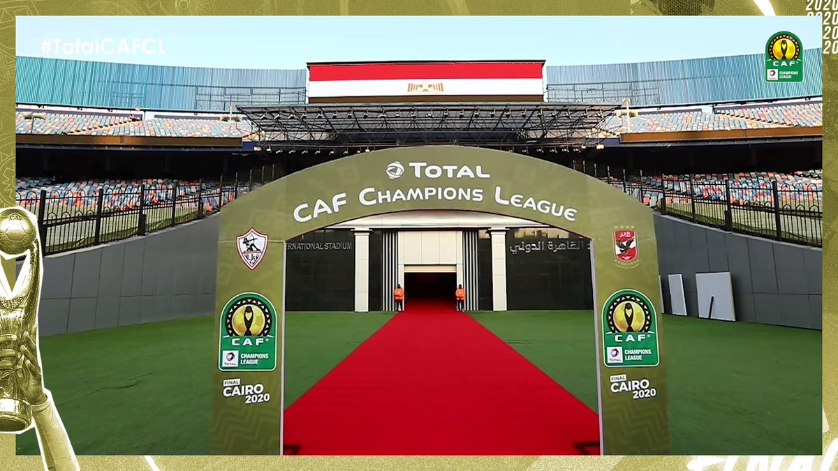 History was written here before. 🔙 History is about to be written here again. 🔜  The Cairo International Stadium. 🏟️  #TotalCAFCL | #ZSCASC
