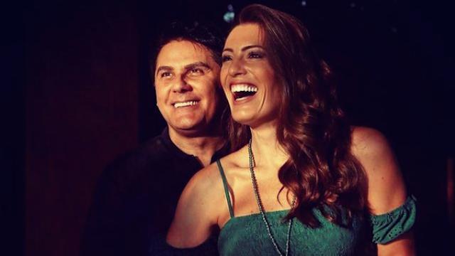 """Cesar Filho sobre trabalho da esposa na TV: """"Peço pra avisar se tiver cenas de beijo"""" #Sensacional"""