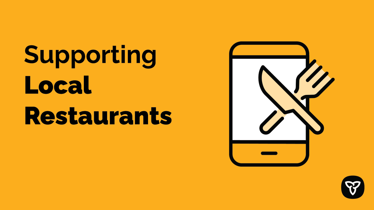 Our small businesses need all the support they can get. That's why we're proposing a cap on food delivery fees to support local restaurants. This would temporarily reduce fees charged by food delivery companies in areas where indoor dining is prohibited. news.ontario.ca/en/release/593…
