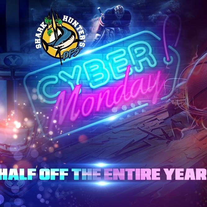 Black Friday and Cyber Monday deals are happening for Shark Hunter DFS.  Check them out at: