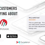 Image for the Tweet beginning: Customers who use @MyUsage love