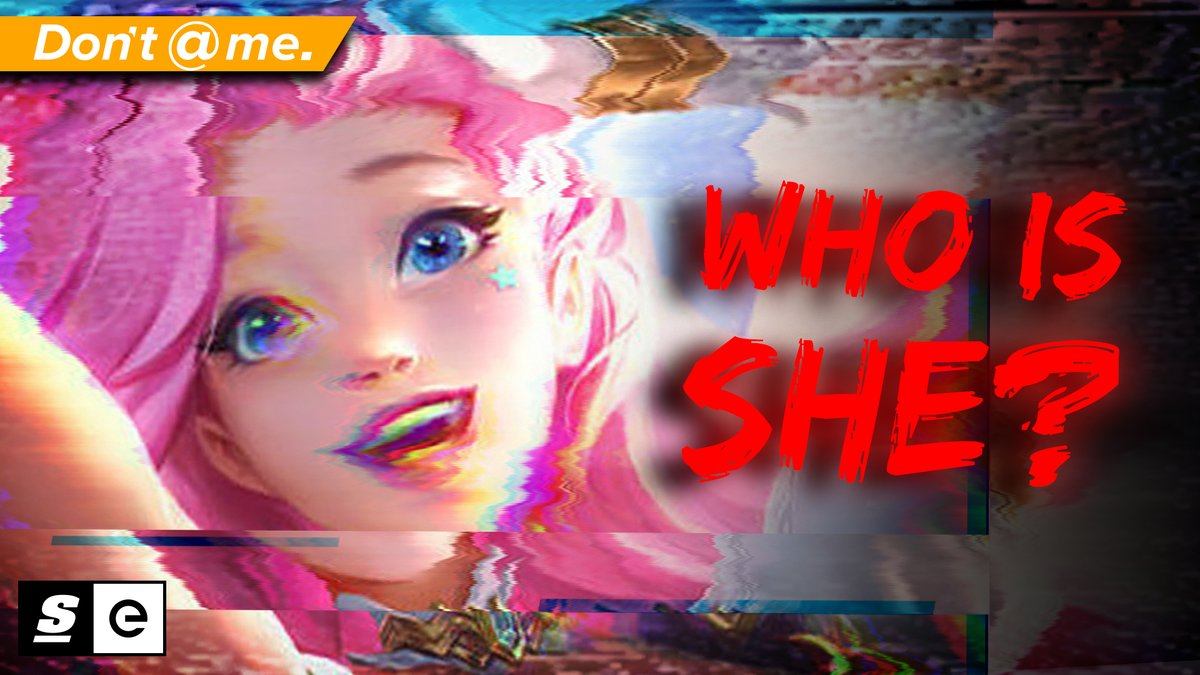 theScoreesports - .@riotgames was recently accused of basing their newest character, Seraphine, off of a real life woman.  And what's more is that this isn't even the first time they've been accused of this.