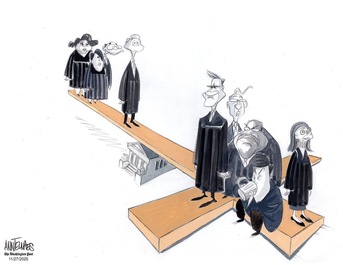 Opinion | SCOTUS starts the dismantling of the wall between church and state washingtonpost.com/opinions/2020/…
