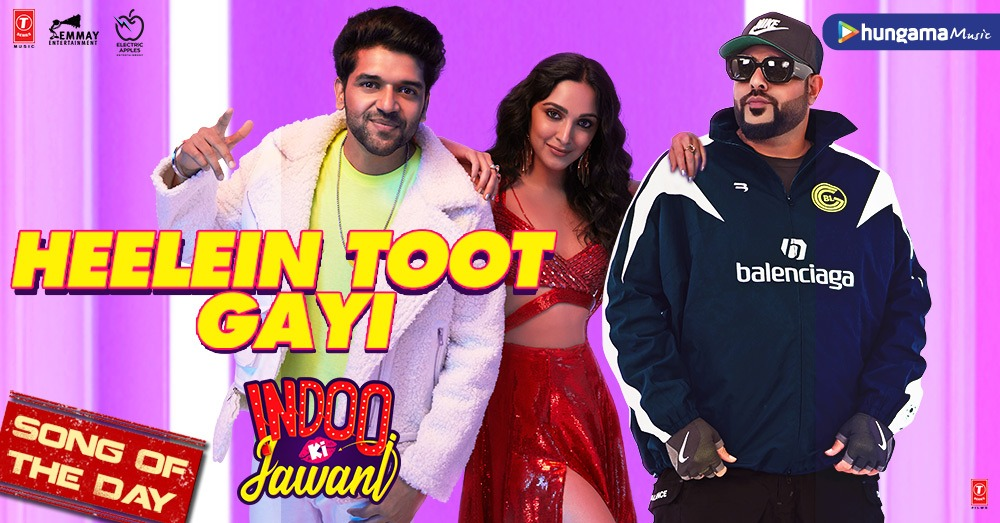 . @advani_kiara!!! You have set our world on fire with your supersexy song #HeeleinTootGayi composed by @Its_Badshah featuring star singer @GuruOfficial 👉  @TSeries @EmmayEntertain #KiaraAdvani