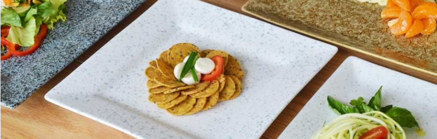 WHITTIER #porcelain glazed in Tiger Eye, Granite and Blue Speckle. Gorgeous, isn't it! 😍 #SimpleElegantAffordable  #dinnerware #chefs #cheflife #hospitality #restaurant #gourmet #hautecuisine #lifestyle #tweegram #instafood #instagood