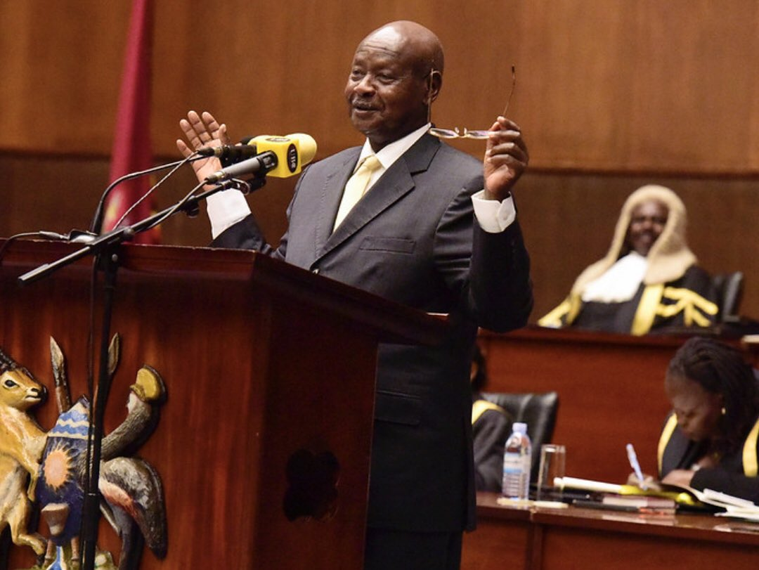 The fact remains that by the end of the #UGDecides2021 elections, he will still be the president of Uganda.  He is un-defeatable, he is Yoweri T. Kaguta Museveni   #SecuringYourFuture https://t.co/3yod9HlsBK